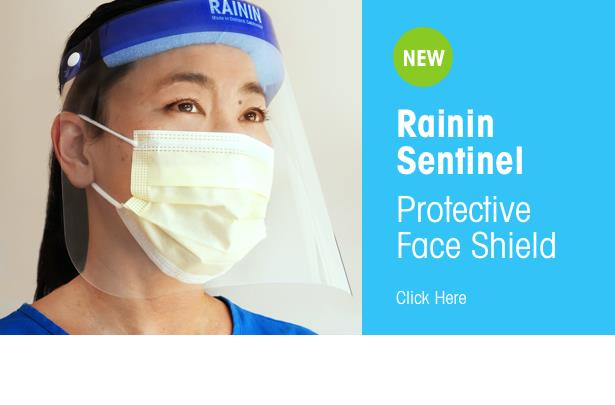 Buy face shields from Rainin